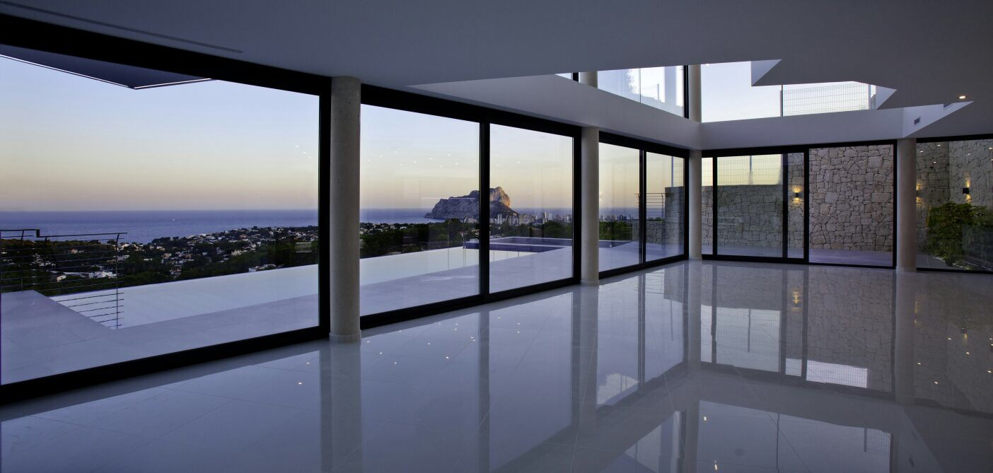 Villa Nadia proyecto de Arquifach, arquitectos Alicante Calpe