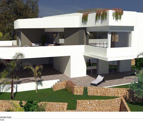 Estudio de arquitectura Alicante Arquifach: Villa Gades