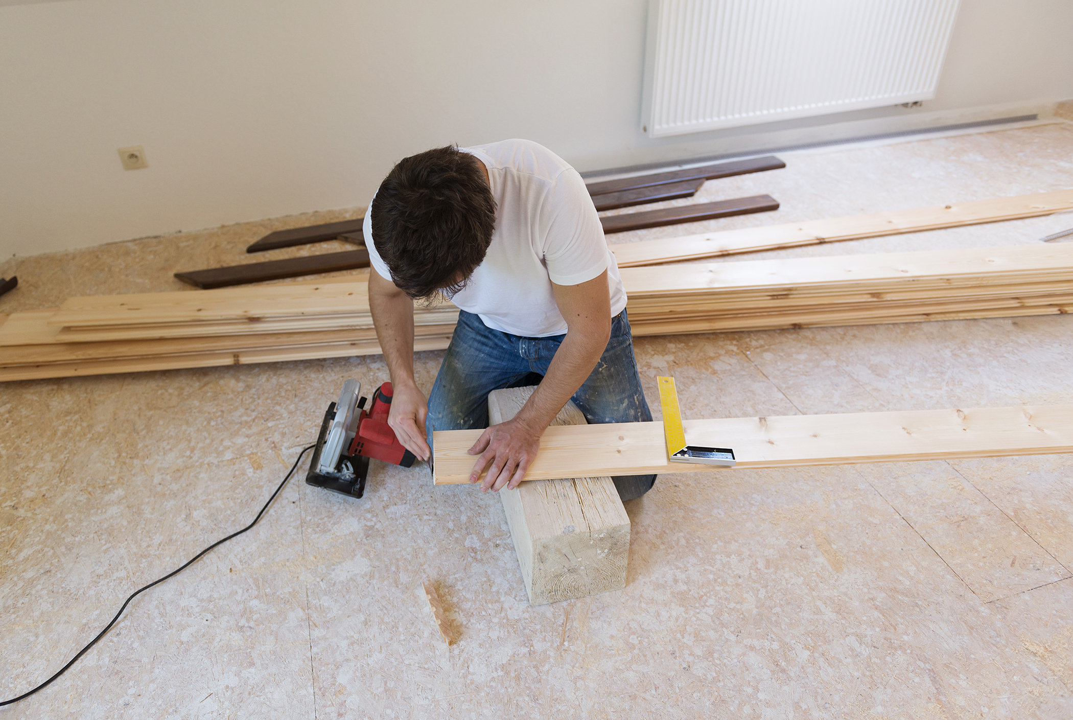 Alicante architectural studio: flooring types