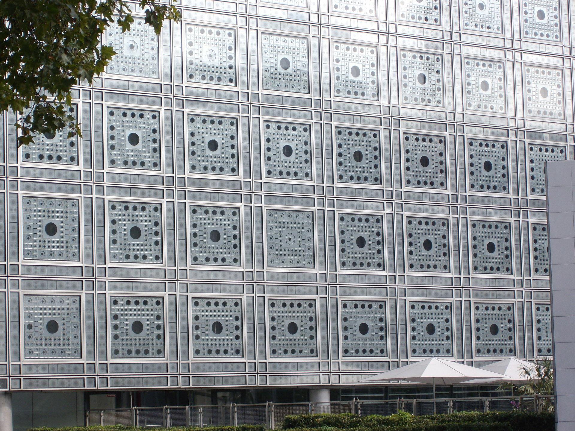 el Centro Árabe de París. HIGH-TECH ARCHITECTURE.