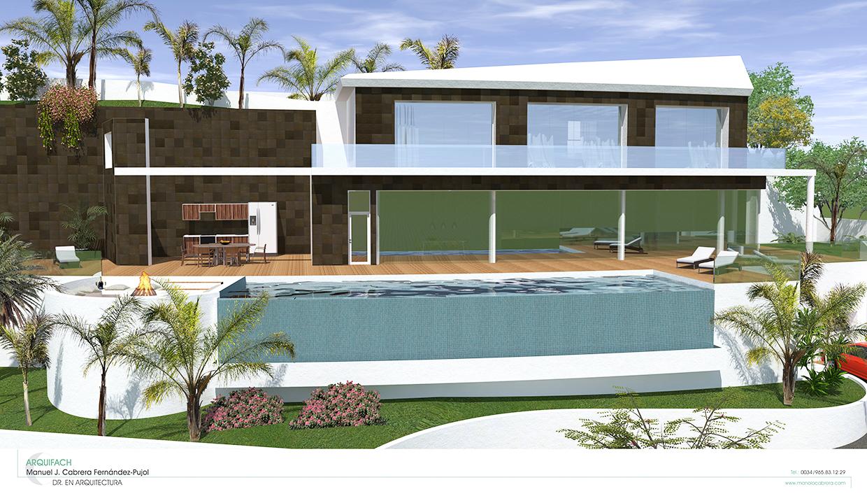 Estudio de arquitectura Alicante Arquifach. Estudio de arquitectura Benisse: Villa Morera