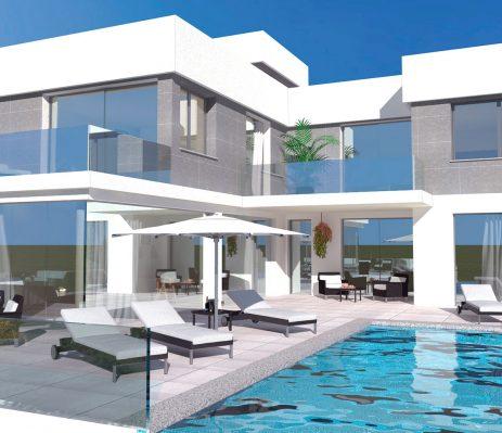 Lee más sobre el artículo Nuevo proyecto arquitectura Calpe: villa unifamiliar en urbanización