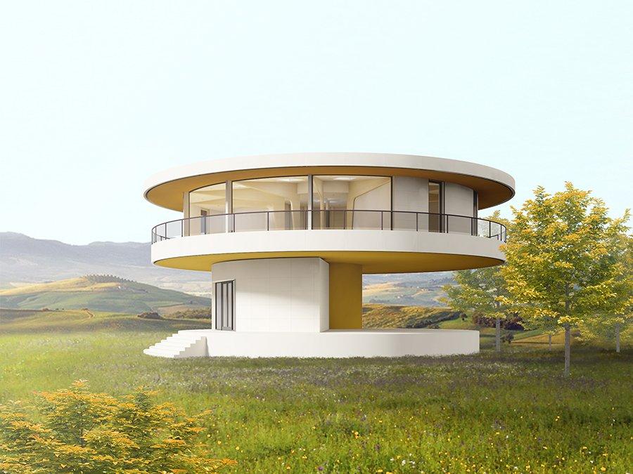Casas giratorias: movimiento según la posición del sol