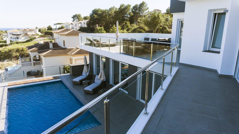 Villa Sabana. Proyecto de estudio de arquitectura Alicante: Arquifach.