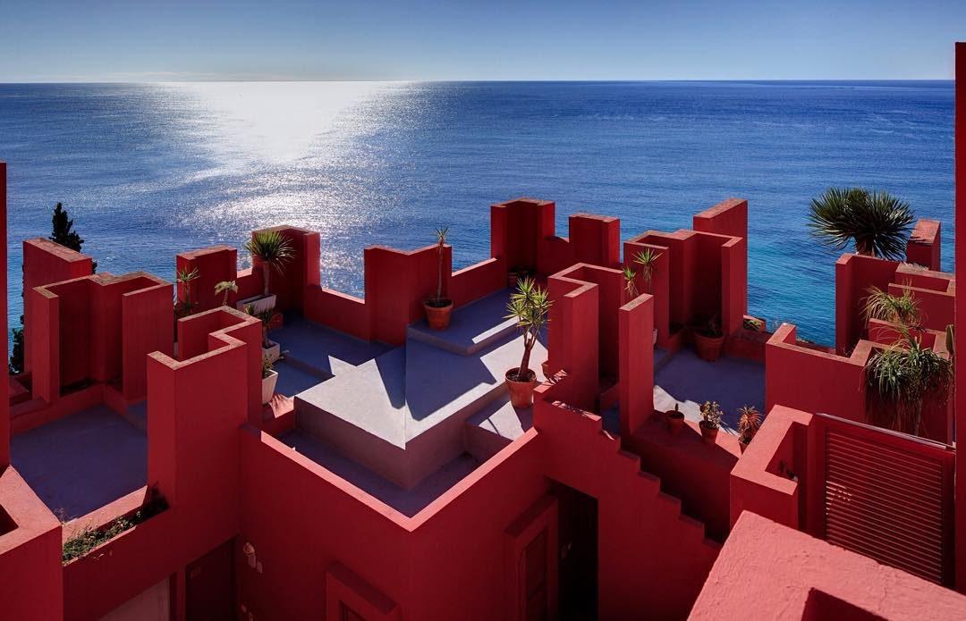Arquitectura Alicante, Calpe: Muralla Roja