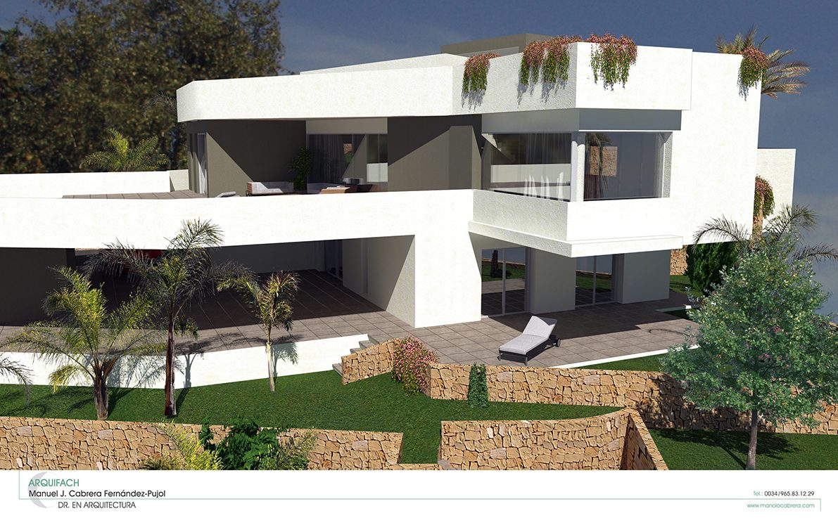 Ms barrons autor en arquifach estudio de arquitectura calpe alicante costa blanca - Estudio arquitectura alicante ...
