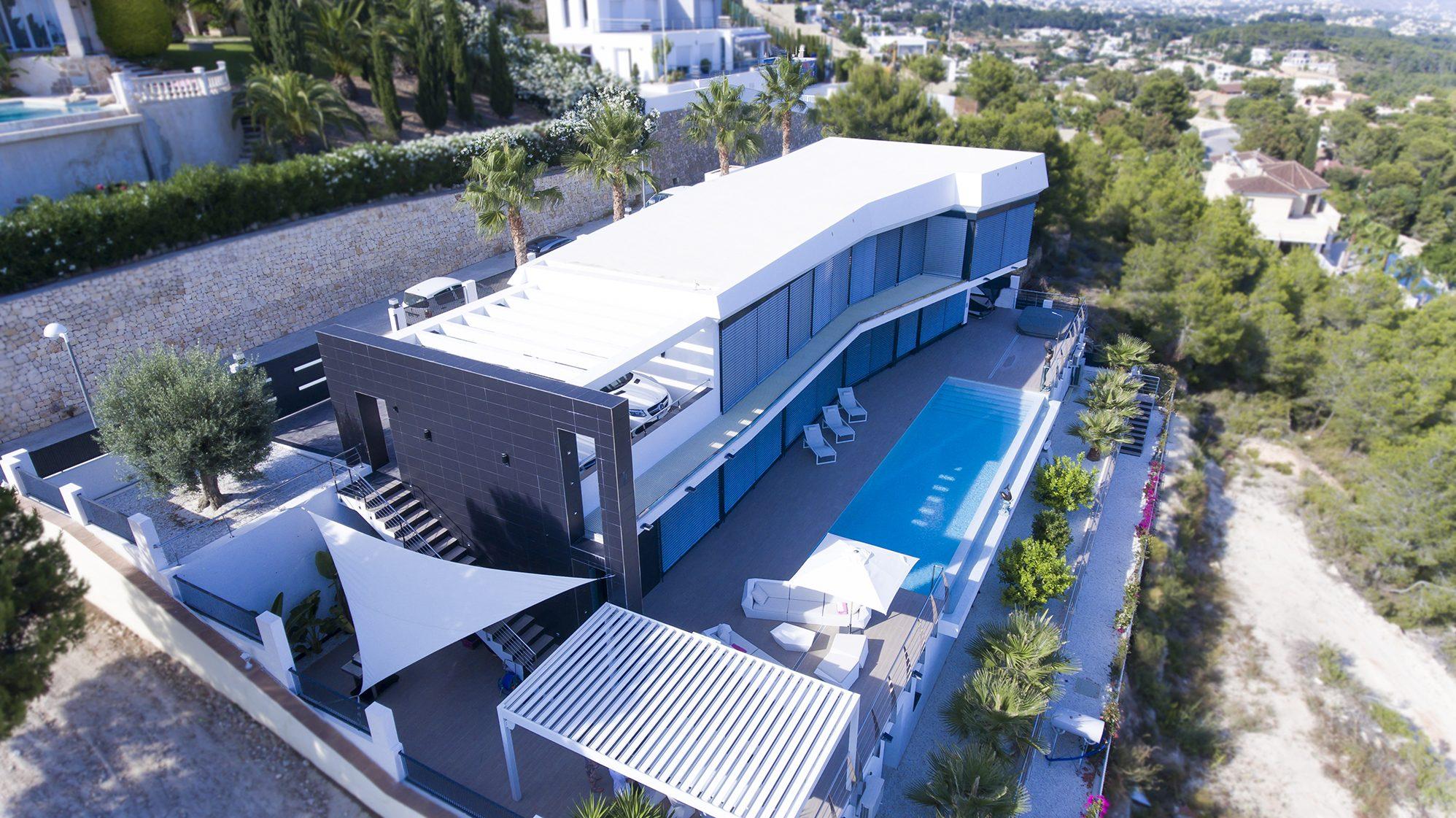 Casa Nadia. Proyecto de Arquifach, Estudio de arquitectura Alicante