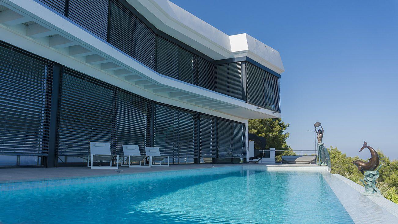 Arquifach, Architectural Studio in Costa Blanca: Modern Architecture of a Chalet