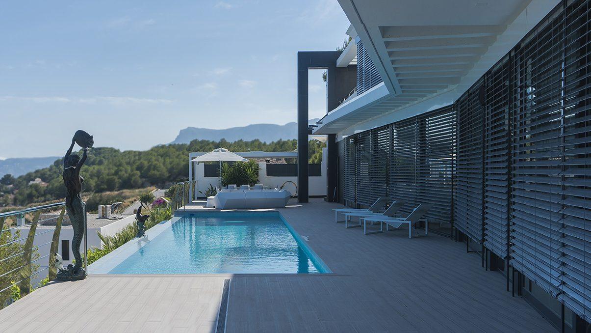 Arquifach, estudio de arquitectura Alicante, Tu chalet o vivienda unifamiliar con piscina en la Costa Blanca
