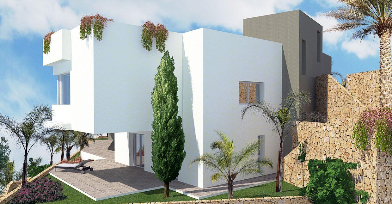 Proyecto de arquitectos Moraira: Villa Puerto de Cádiz